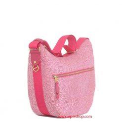 Borsa Borbonese Luna Bag Medium Tasca Radish lato