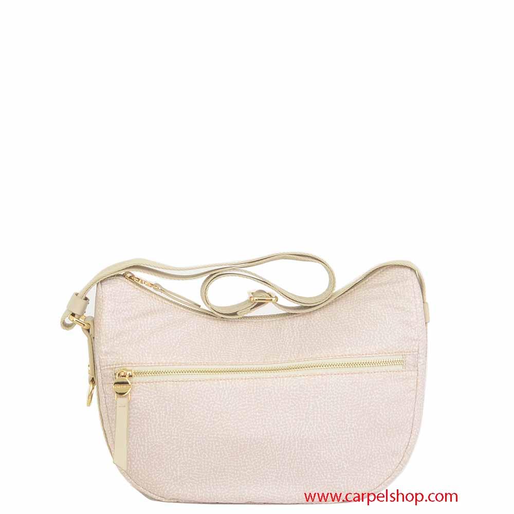 Small Bag BorboneseBorse Borsa Tasca Luna Borbonese Cream 1cFKTlJ3