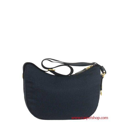 Borbonese Luna Bag Small Nero dietro