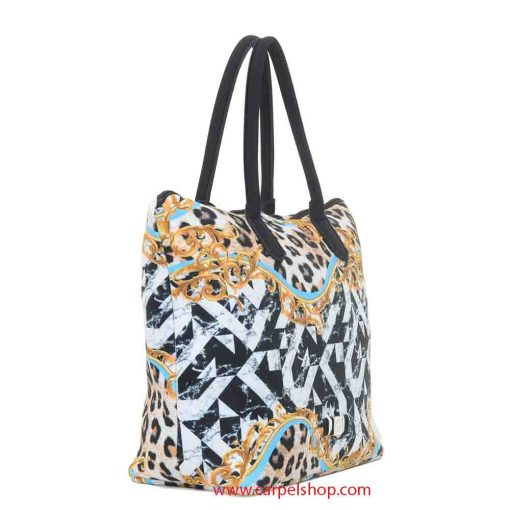 Borsa Save My Bag Madame Xlight Barocco lato