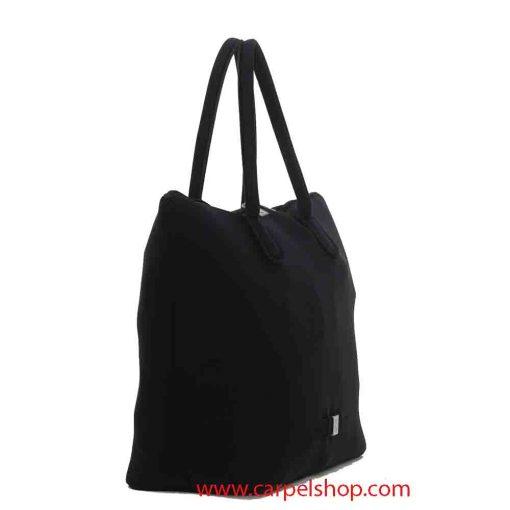 Borsa Save My Bag Madame Xlight Nero lato