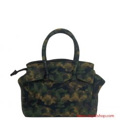 Save My Bag Miss Plus Camouflage Gree dietro