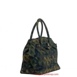 Save My Bag Miss Plus Camouflage Gree lato
