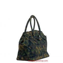 Save My Bag Miss Plus Camouflage Gree lato