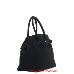 Borsa Save My Bag Miss Plus Nero lato