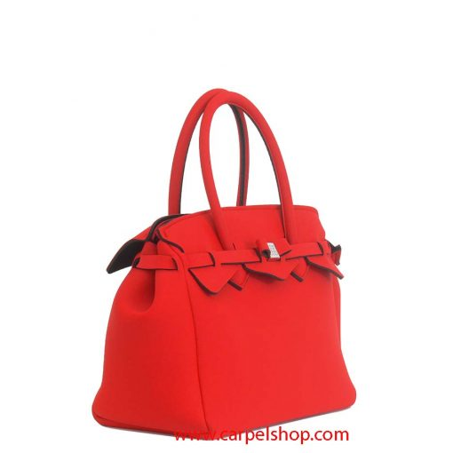 Borsa Save My Bag Miss Plus Red Coat lato
