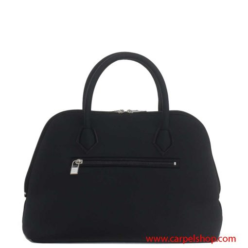 Borsa Save My Bag Princess Midi Nero dietro