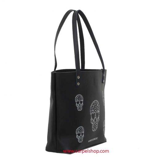 Alviero Rodriguez Shopper Skull Stars lato