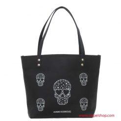 Alviero Rodriguez Shopper Skull Stars